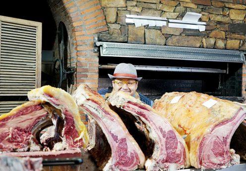 世界一のステーキと賞賛されるホセ・ゴードン氏のレストランへ