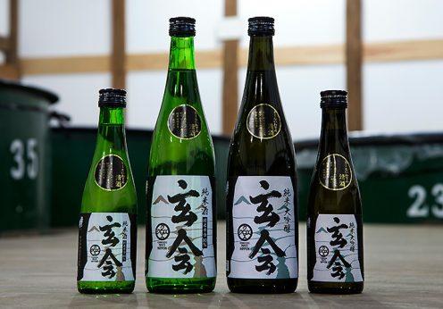 オール岩手の日本酒「玄会(クロエ)」