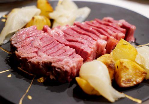 総重量6kgオーバー!肉汁滴る熟成肉Lボーンステーキ