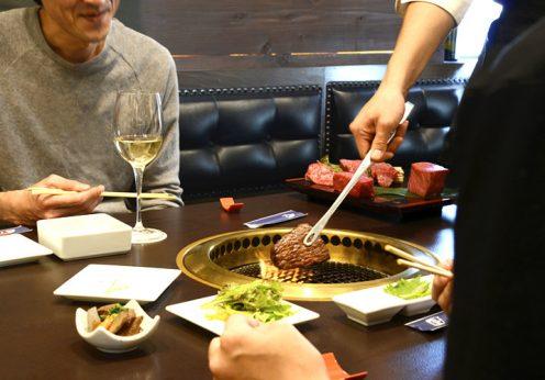 塊焼きの肉汁をキープ!熟成肉の焼肉の新スタイル