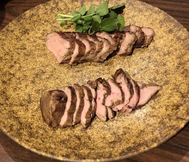 「ジャージー子牛肉」と「有難豚(ありがとん)」