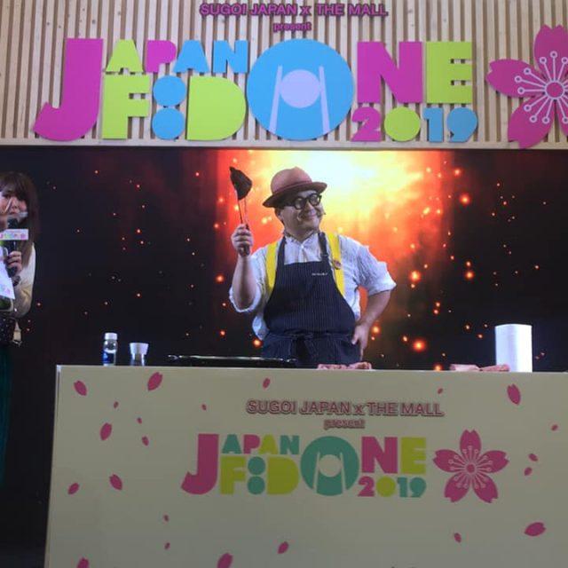 タイバンコクで肉おじさんの和牛ショーが大盛り上がり!!